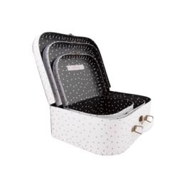 Sass & Belle - Kofferset  - Metallic Monochrome