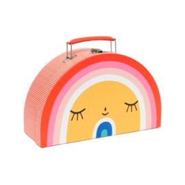 Petit Monkey - Kinderkoffer Rainbow & Sun