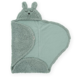 Jollein - Wikkeldeken-Bunny- Ash Green