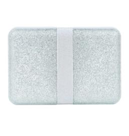 A Litte Lovely Company - Lunchbox - Glitter zilver