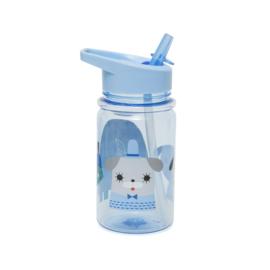 Petit Monkey - Drinkfles Peanut & Co - Blue