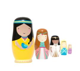 Petit Monkey - Nesting Dolls