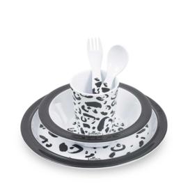 Jollein- Dinerset - Leopard