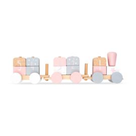 Jollein - Speelgoedtrein - Roze