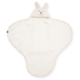 Jollein - Wikkeldeken-Bunny-off-white