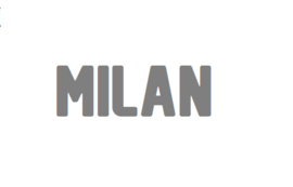 Sticker 'Milan'