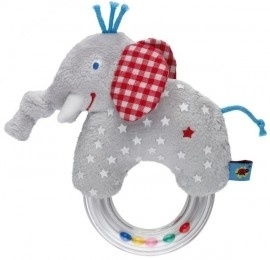 Babygeluk - Ringrammelaar olifant