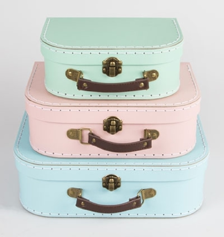 Sass & Belle - Kinderkofferset - Pastel