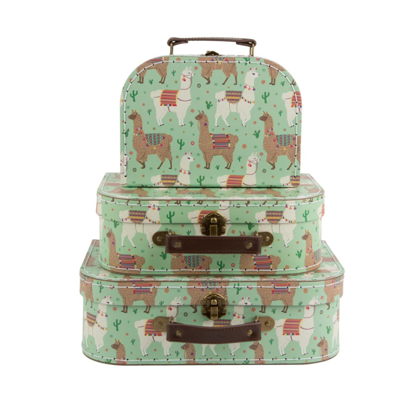 Sass & Belle - Kinder kofferset - Lama
