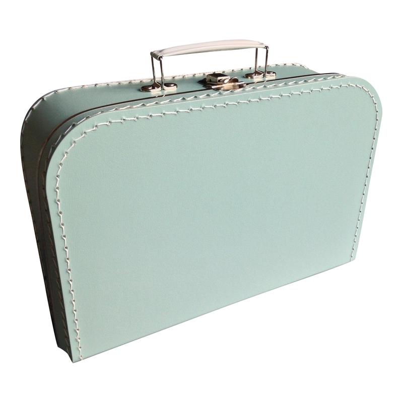 Kinderkoffertje  Large Mintgroen 30 cm x 21 cm x 9 cm