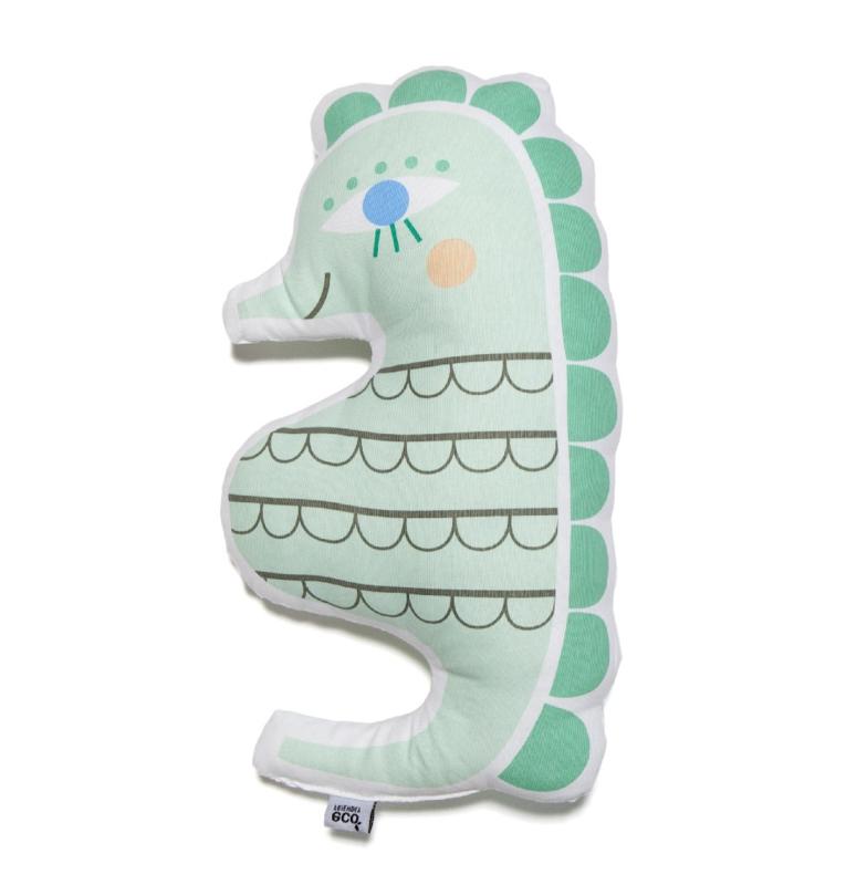 Petit Monkey - Kussen Zeepaardje - 40 cm