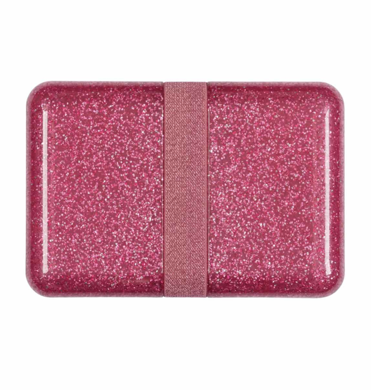 A Litte Lovely Company - Lunchbox - Glitter pink