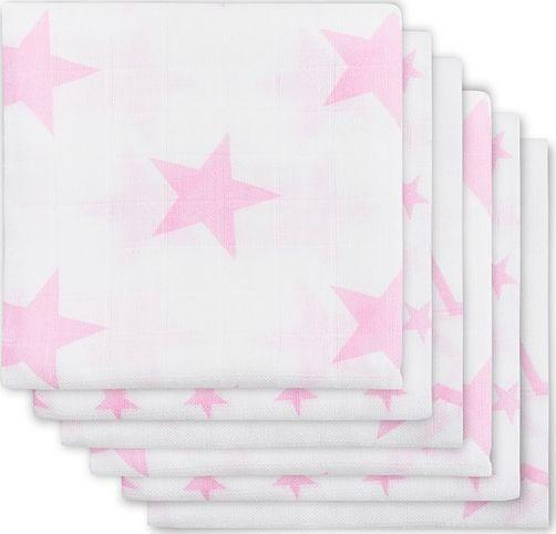 Jollein - Hydrofiel Monddoekjes Little Star Pink