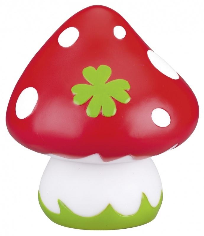 Babygeluk - Nachtlamp paddenstoel ( 15 cm)
