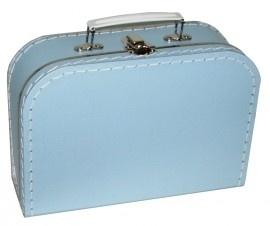 Kinderkoffertje Medium lichtblauw 25 cm  x 18 cm  x 9 cm