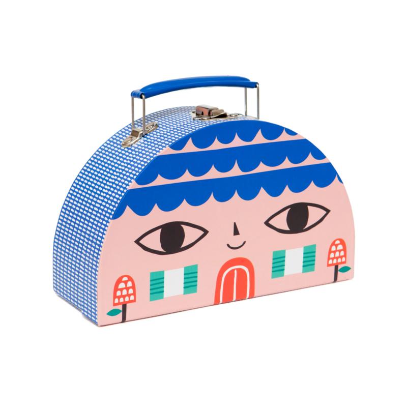 Petit Monkey - Kinderkoffer House & Bird