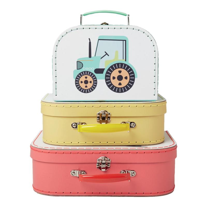 Sass & Belle - Kinder kofferset - Trucks
