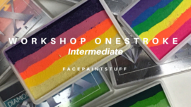 ---- Workshop OneStroke ----21 en 28 okt 2020--- 19.00-21.00