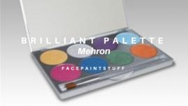 Paradise Makeup - 8 colour Palette Brilliant