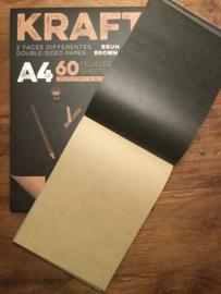 KRAFT practise paper. 60 sheets