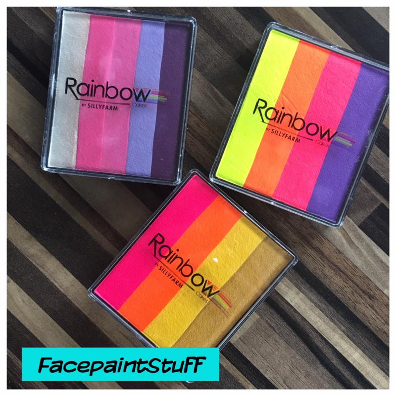 SillyFarm Rainbow Cake
