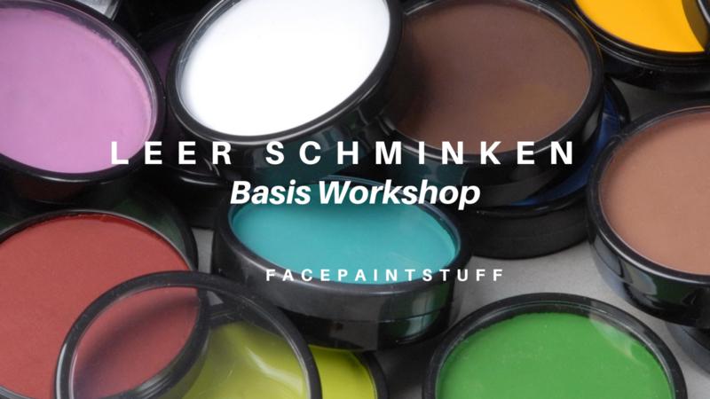 Basis Workshop Schminken. 31.08.2020. (4 weken)