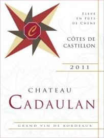 2011 Chateau Cadaulan Castillon Côtes de Bordeaux