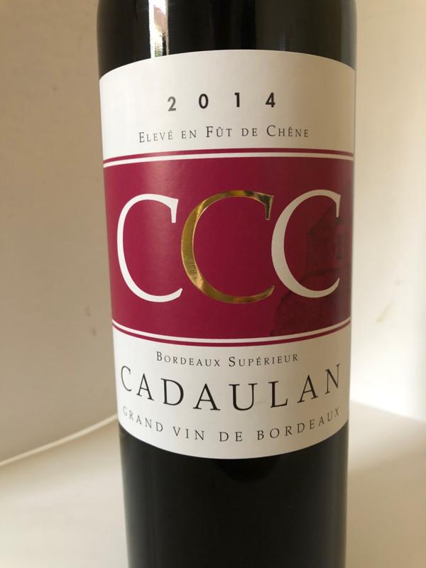 2014 Chateau Cadaulan Bordeaux Supérieur