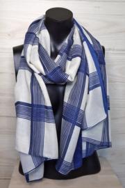 sjaal met grote ruiten