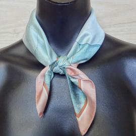 sjaaltje, bandana, waterlelies