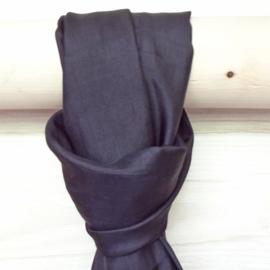zijden sjaal zwart