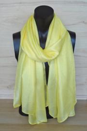 sjaal in geel
