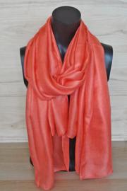 sjaal in oranje
