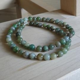 ketting van afrikaanse jade