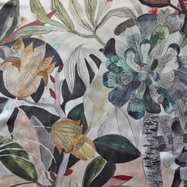 sjaaltje, bandana, bloemen