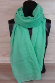 Sjaal mintgroen