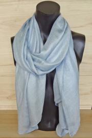 sjaal in lichtblauw