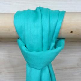 Sjaal in mintgroen, 50%wol