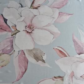 sjaaltje, bandana, bloemen roze
