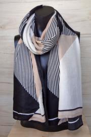 sjaal vlakken en strepen