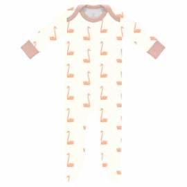 Pyjama met voet swan