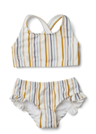 Juliet bikini multi stripe