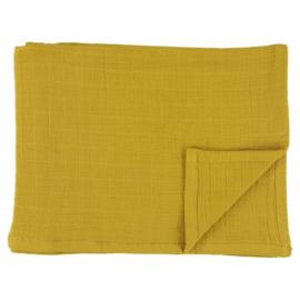Set van 3 hydrofiele doeken mustard