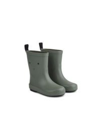 Tobi rain boot rabbit fauna green