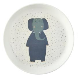 Trixie plate mrs elephant