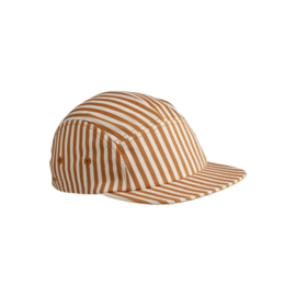 Rory cap mustard stripes