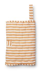 Wilma changing blanket mustard stripe - Liewood