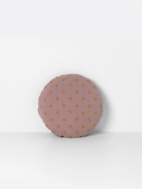 Ferm living popcorn cushion dusty rose