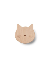Ida knob cat natural - Liewood