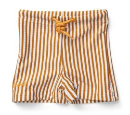 Otto swim pants mustard stripes